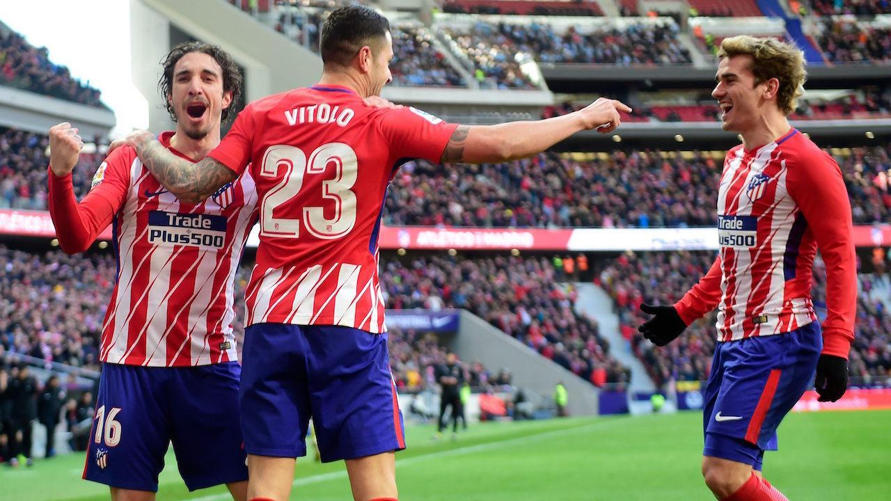 Antoine Griezmann , Atlético Madrid , Celta de Vigo , La Liga