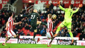 Stoke City F.C. , Manchester City F.C. , Premier League