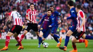 FC Barcelona , Athletic Bilbao , Lionel Messi , La Liga
