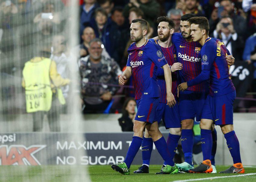 FC Barcelona , A.S. Roma , UEFA Champions League